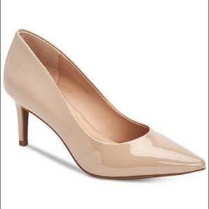 Alfani women's nude step 'n flex jeules pumps